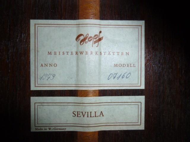 Hopf Sevilla