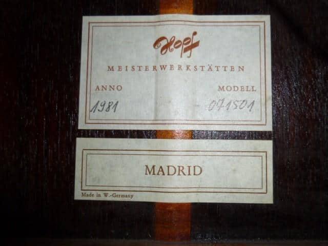 """P1020462 - Dieter Hopf 1981 """"Madrid"""""""