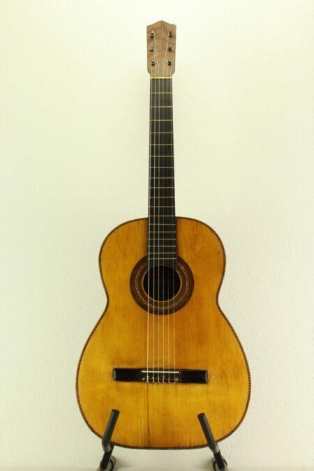 IMG 0004 2 450x675 - Meister-Gitarre Telesforo Julve 1a Luthier handgebaut vom Meister in 1939