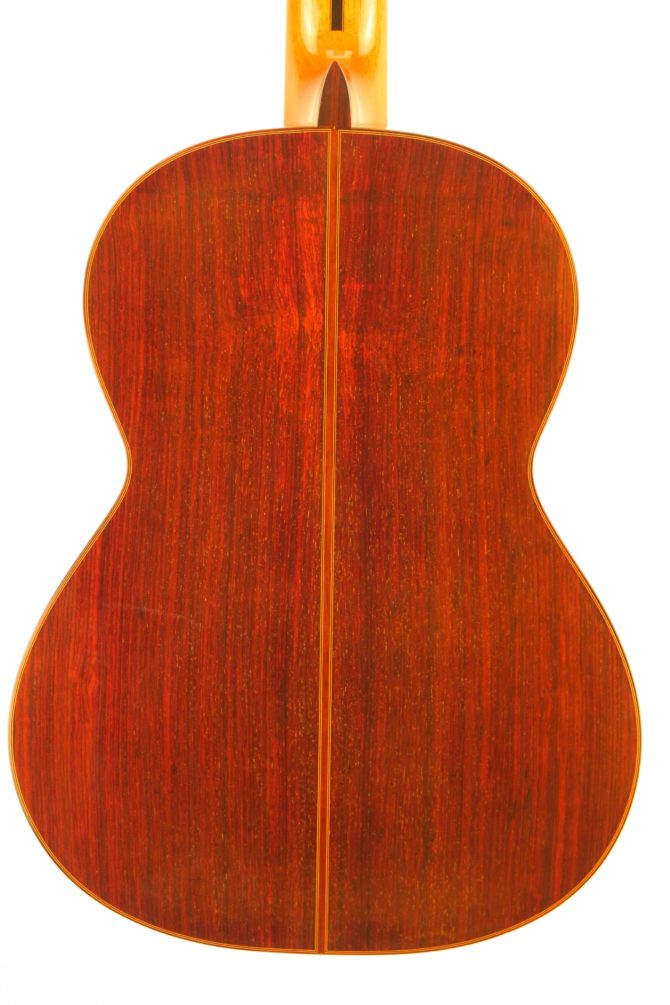 Miguel Malo 2005 rosewood body back