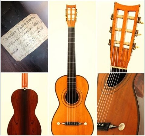 Unbenannt - A customers review about our Louis Panormo 1832 Romantic Guitar