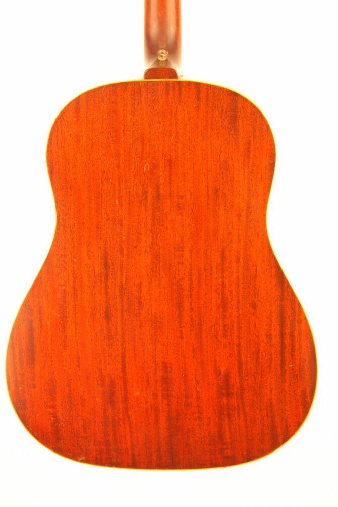 Gibson J-50 1968 body back