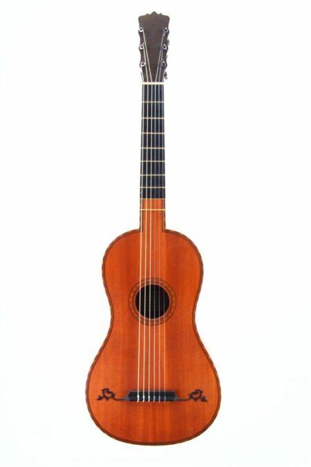 Dieter Hopf baroque guitar vorne