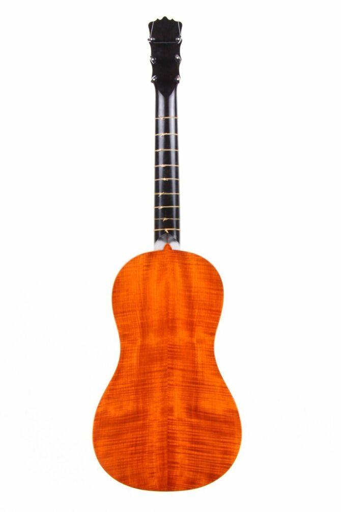 Dieter Hopf baroque guitar hinten