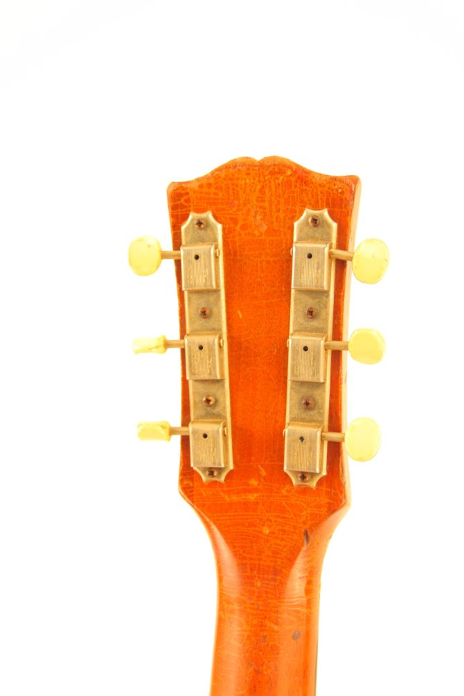 Gibson J-50 1956 headstock back
