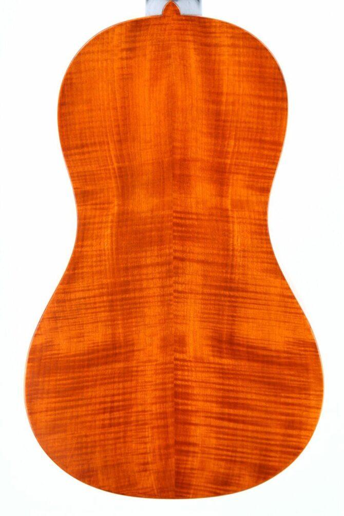 Dieter Hopf baroque guitar korpus hinten