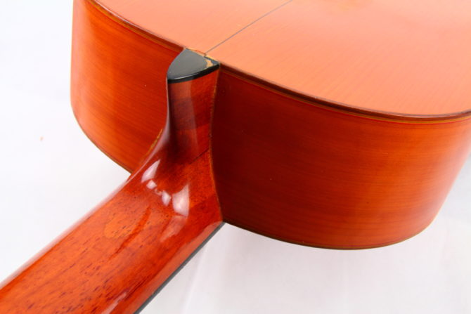 Juan Estruch 1976 Flamenco neck