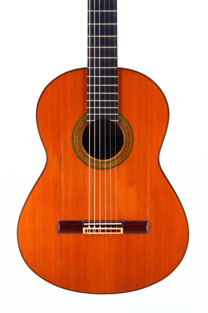 Francisco Barba 1981 Brazilian Rosewood body front