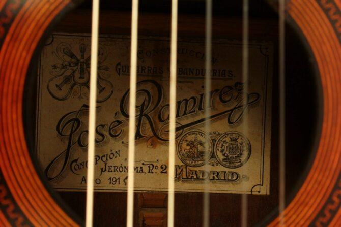 Jose Ramirez I 1915 label