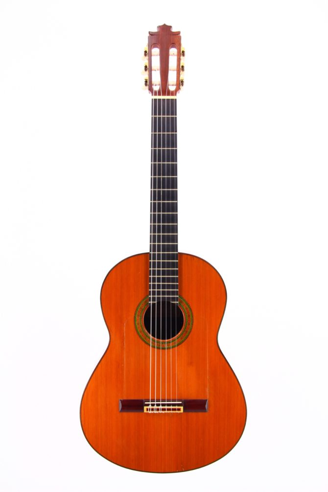 Francisco Barba 1981 Brazilian Rosewood front