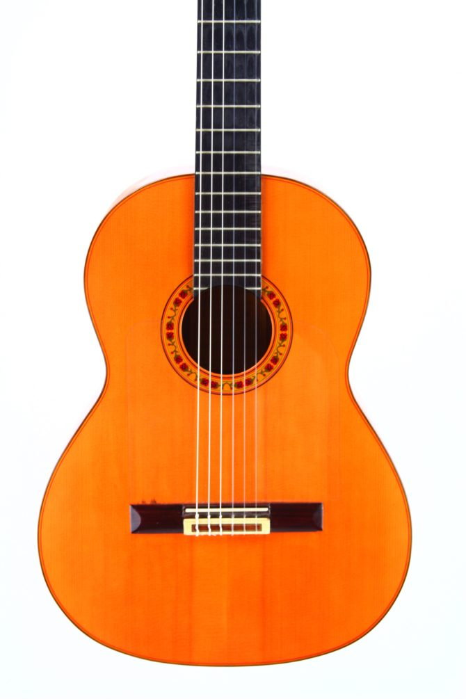 Juan Estruch 1976 Flamenco body front