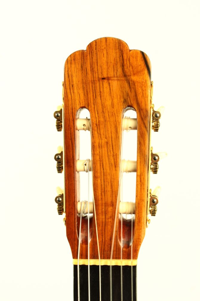 Andres Dominguez 1977 headstock front