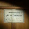 Manuel Contreras 1a 1967 label
