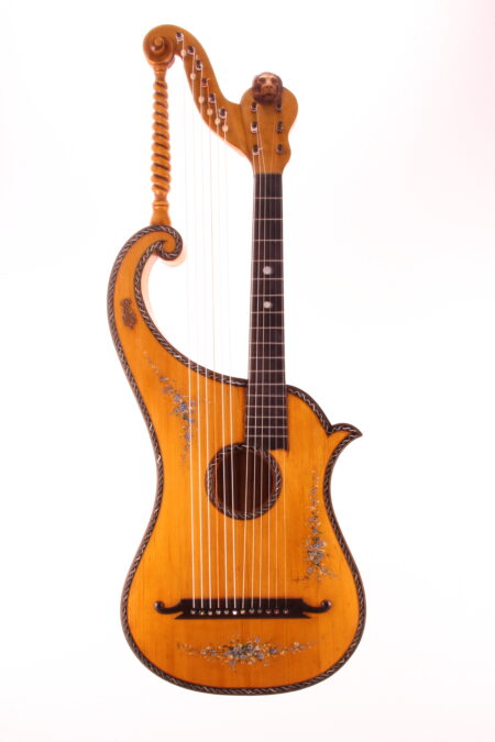 IMG 1495 450x675 - Albertus Blanchi 1900 Harp Guitar
