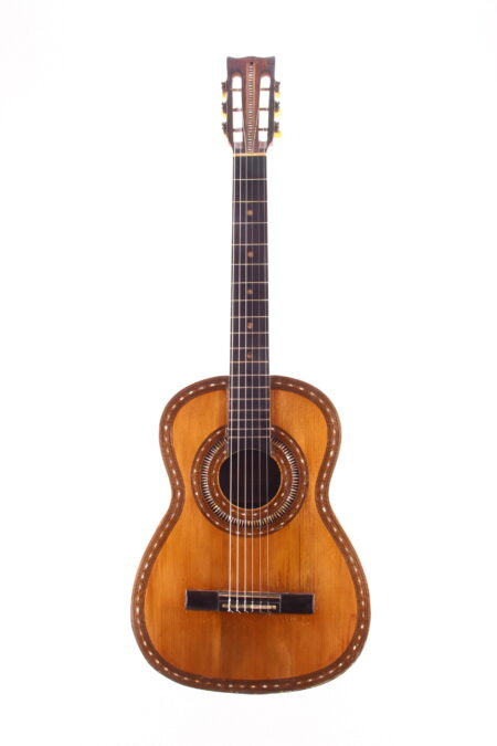 IMG 1817 450x675 - Francisco Pau classical guitar ~1870