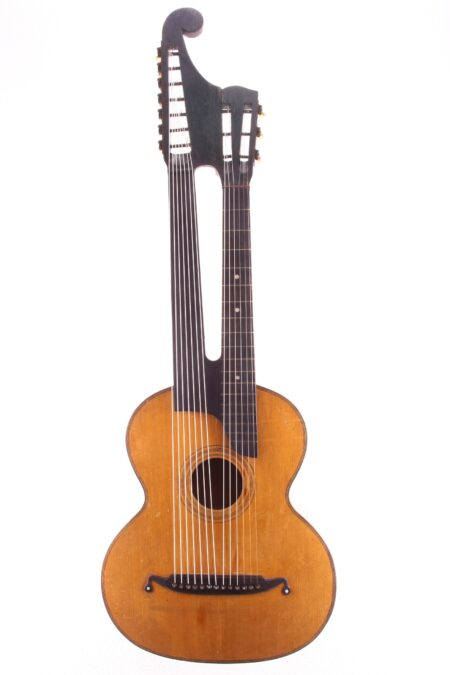 IMG 1842 450x675 - Vienna style Contra Guitar ~1890