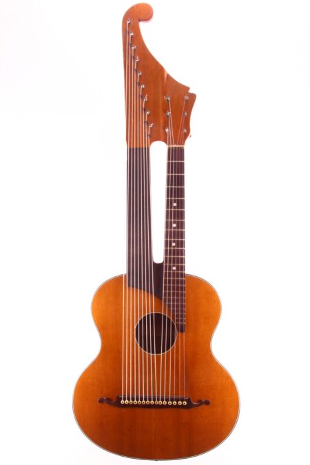 IMG 2284 450x675 - Vienna style Contra Guitar ~1890 (C.A. Wunderlich)