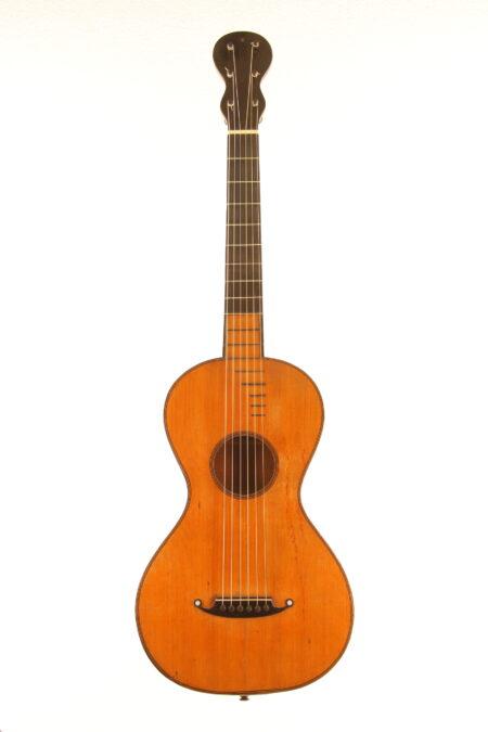 IMG 3510 450x675 - Frühromantische Meistergitarre - Frankreich ~1810