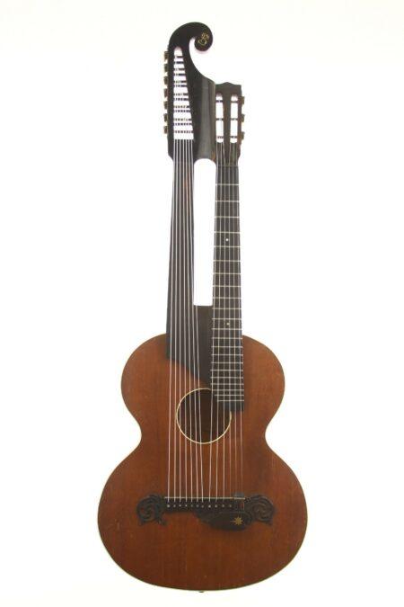 IMG 3810 2 450x675 - Wiener Kontragitarre ~1900 Stauffer Stil