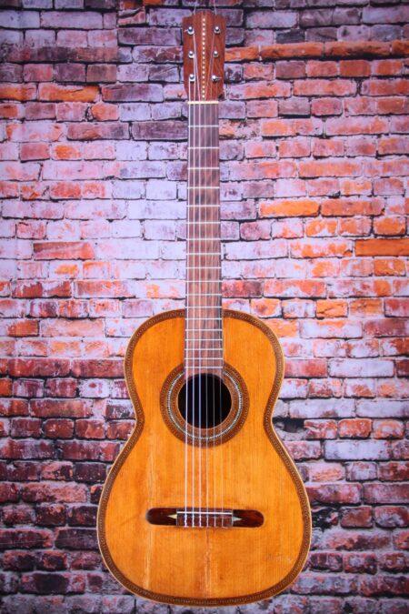"""IMG 4224 5 450x675 - Salvador Ibanez ~1900 """"Ramon Jimenez"""" Torres style guitar"""