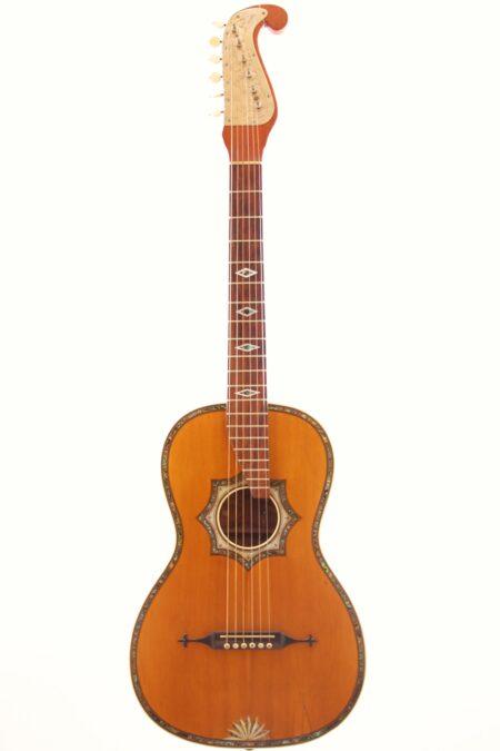 IMG 4464 450x675 - Stauffer Style Romantic Guitar ~1890